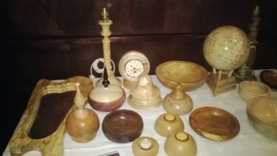 Selection of pieces donated to Piete House at tenth anniversary celebration