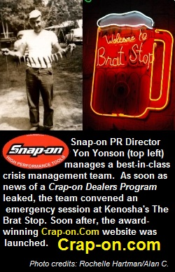 Snap-on Public Relations