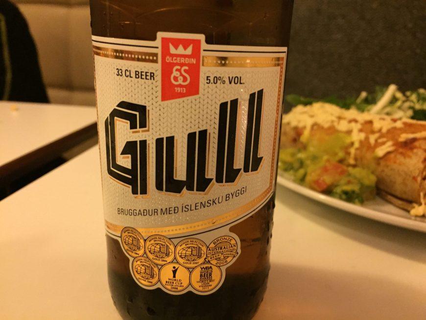 Bière Gull - Islande