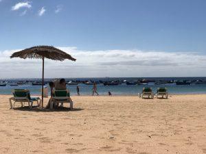 Plage Las Teresitas Santa Cruz Tenerife