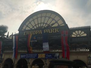 Entrée Europapark Rust Allemagne