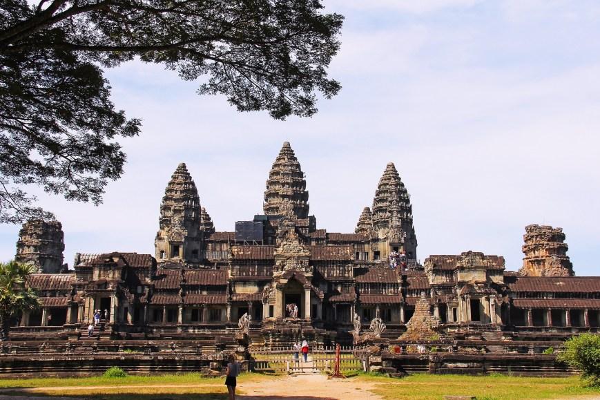 Angkor - Tour du monde en famille - Itinéraire