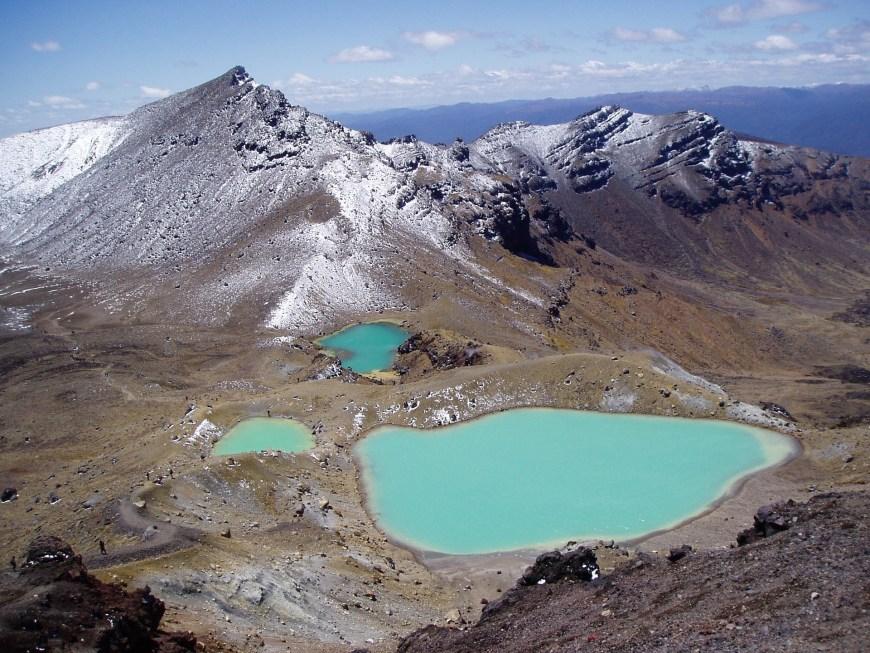 Tongariro Alpin Crossing - Tour du monde en famille - Itinéraire