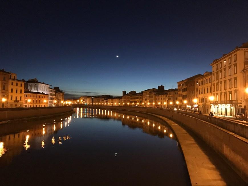 Une semaine en Italie en sac à dos et en famille: Pise