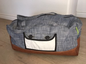 Crapchute Bags - The Weekender prototype