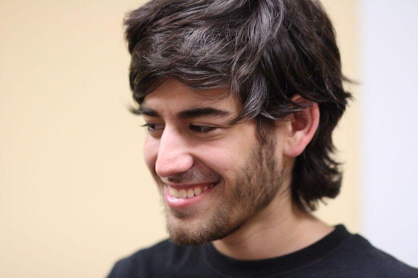 A 2009 portrait of Aaron Swartz.