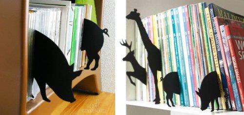 Boekensteunen in de vorm van dieren