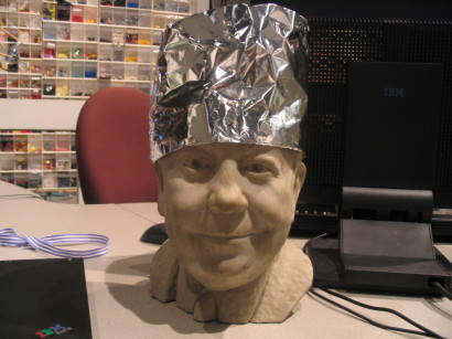 Tinfoil hats actually amplify mind-control beams / Boing Boing