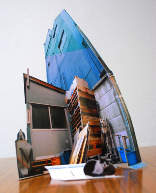 Beautiful Japanese architectural papercraft / Boing Boing