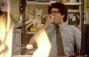Shot from The IT Crowd