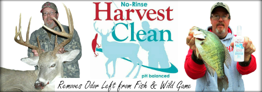 Harvest Clean Website Banner 540 190 with slogan and smoke border