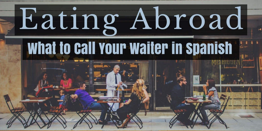 waiter in spanish