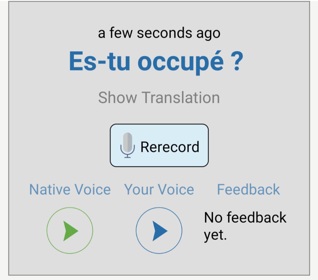 Speechling for Spanish speaking practice