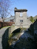 Ambleside, little house on the bridge