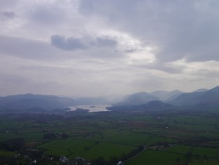 Glorious view over Derwentwater