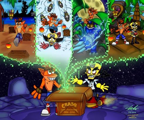 http://nl-rad.deviantart.com/art/Happy-20th-Anniversary-Crash-Bandicoot-633414434