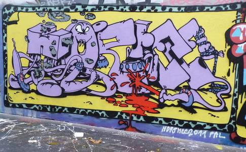 HORFE FRANCE GRAFFITI