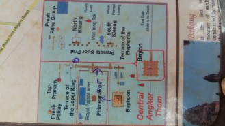 In real life Angkor Wat is a bit more complicated than this.