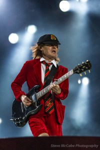 Angus Young of AC/DC at Western Springs Stadium, Auckland, December 15th, 2015