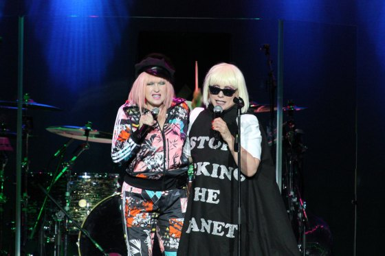 Cyndi Lauper & Debbie Harry