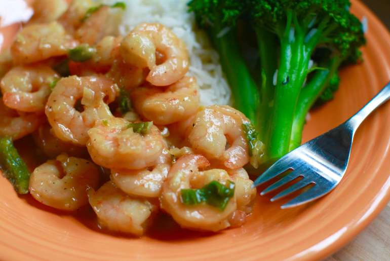 20 Minute Honey Mustard Garlic Shrimp Recipe-3