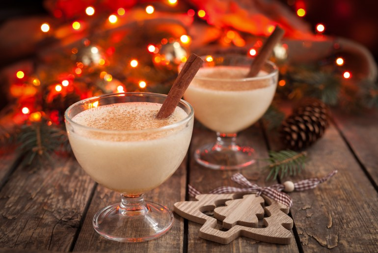 An Authentic American Eggnog Approved by George Washington