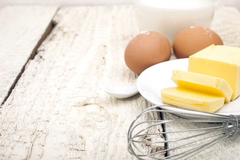 An easy trick to bring butter and eggs to room temperature for baking_adobe_milk