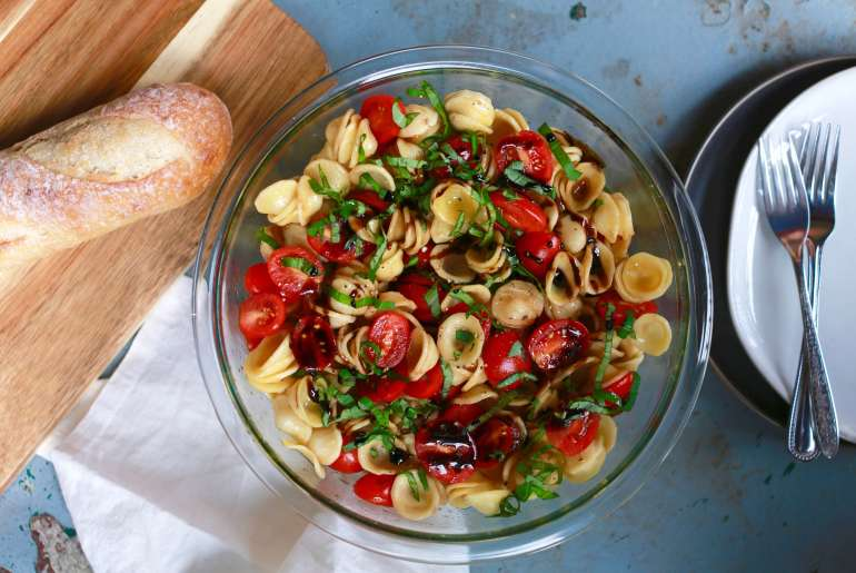 Best bruschetta pasta salad_1