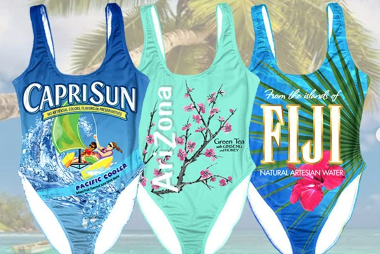Capri sun swimsuits are here for a splash of '90s nostalgia
