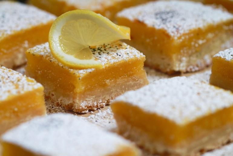 Easy 6 ingredient lemon, poppyseed bars-2-Meghan Rodgers