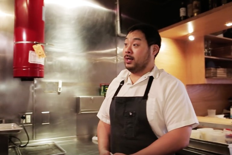 Foodies have reason to watch the 2018 Olympics now, too David Chang for NBC
