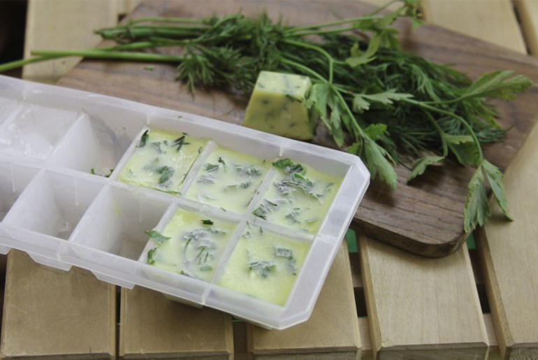 Freezing herbs and other methods to make them last all winter