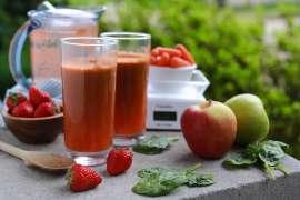 Fresh Summer Farm Stand Juice