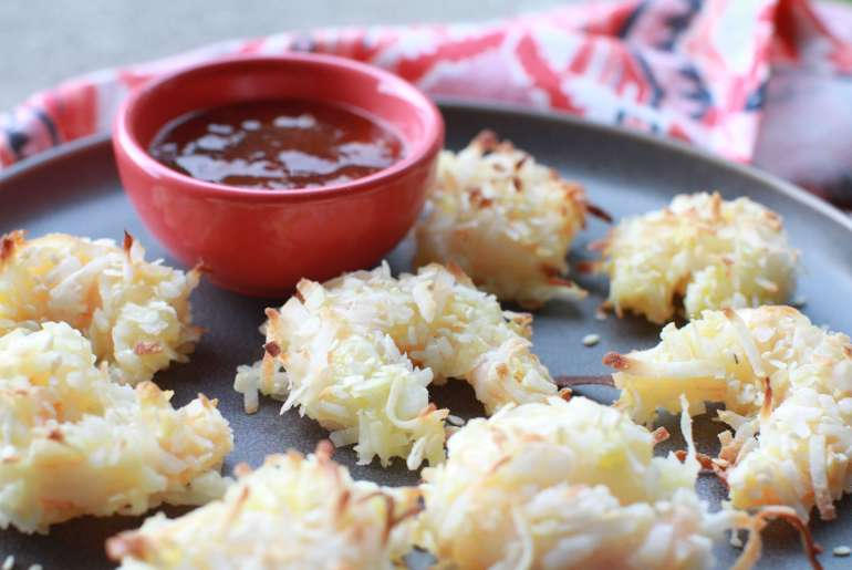 Healthy baked coconut shrimp-3
