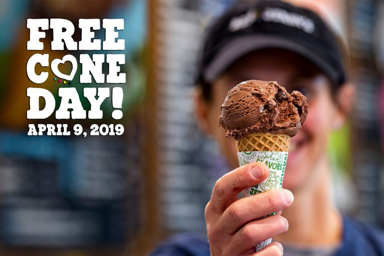 Here's how to get Free Ben & Jerry's Ice Cream on Free Cone Day