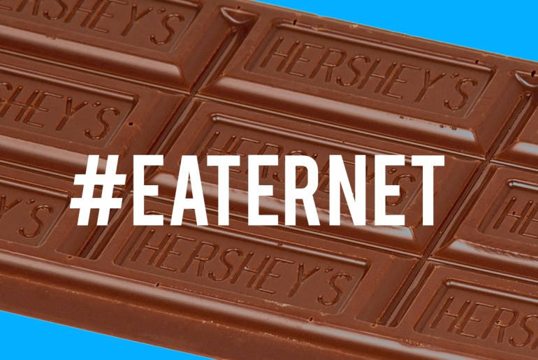 Hershey's builds website made entirely of chocolate by Everybody Craves
