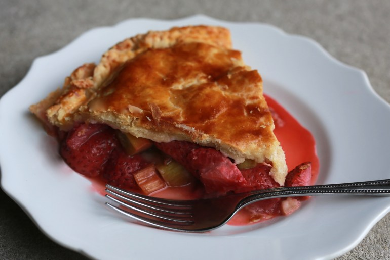 It's not summer without strawberry, rhubarb pie