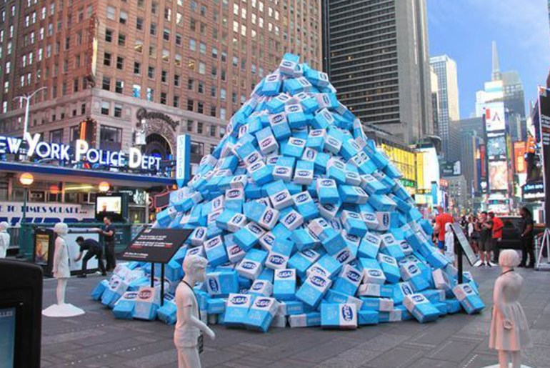 Kind Bar dumps sugar in Time Square