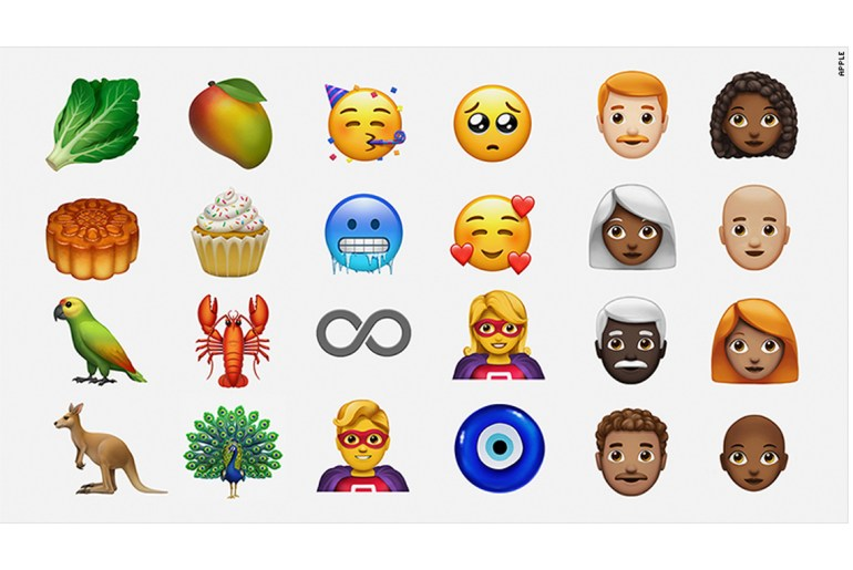 Lobster, cupcake and lettuce among new emoji crop