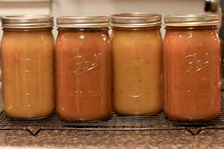 Making and canning your own crockpot applesauce