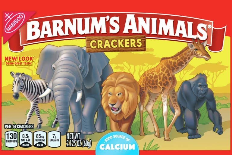 New Animal Cracker packaging sets animals free