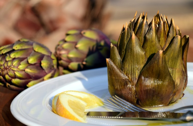 November produce What's in season - artichoke