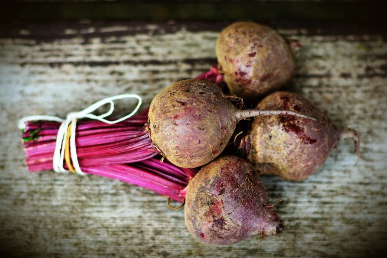 November produce What's in season - beetroot