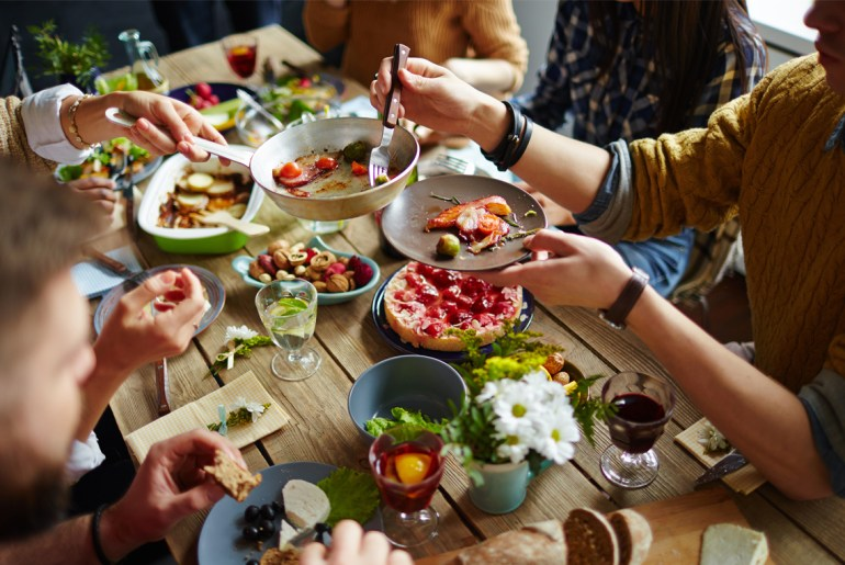 Opposing politics cut our Thanksgiving dinner short by more than an hour, study shows