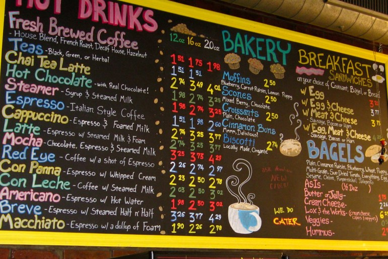 Restaurants with handwritten menus are seen as healthier, study says