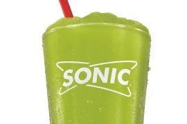 Pickle Slushie at Sonic
