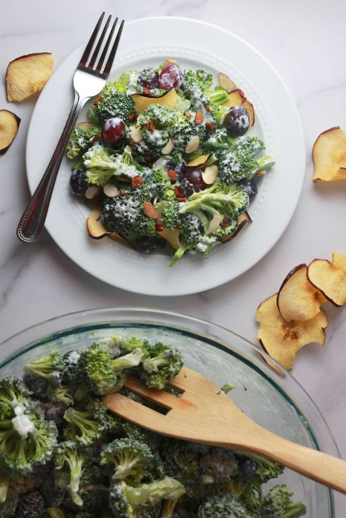 The Best Broccoli salad with turkey bacon_3