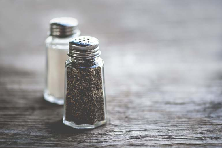 Warning: You may not want to use the pepper shaker at restaurants