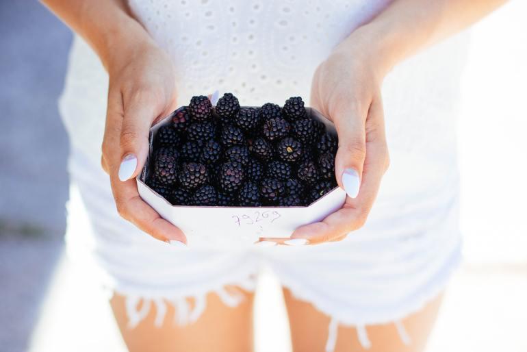 blackberries-What produce is in season in September?blackberries