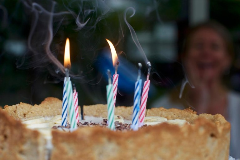 Blowing out birthday candles can boost bacteria by up to 1,400 percent.
